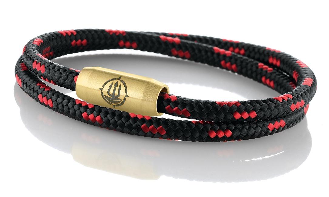 <strong>Einfach Anlegen! Maritime Armbänder aus echtem Segeltau und Leder</strong>