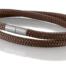 """Armband aus maritimen Segeltau der Marke Seemannsgarn by Q-Sportz _ Modell """"Föhr"""" braun"""