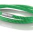 """Armband aus maritimen Segeltau der Marke Seemannsgarn by Q-Sportz _ Modell """"Föhr"""" grün"""