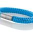 """Armband aus maritimen Segeltau der Marke Seemannsgarn by Q-Sportz _ Modell """"Föhr"""" blau"""