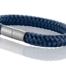 """Armband aus maritimen Segeltau der Marke Seemannsgarn by Q-Sportz _ Modell """"Föhr"""" navy-blau"""