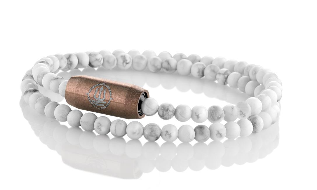 Einfach Anlegen! Maritime Armbänder aus Echtsteinen